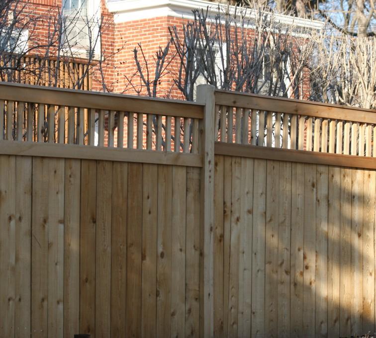 AmeriFence Corporation Kansas City - Wood Fencing, 1044 Custom Dato