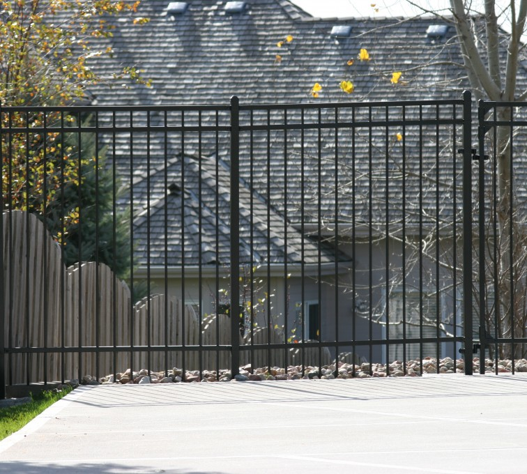 AFC Grand Island - Ornamental Fencing, 1068 Flat Top 6'