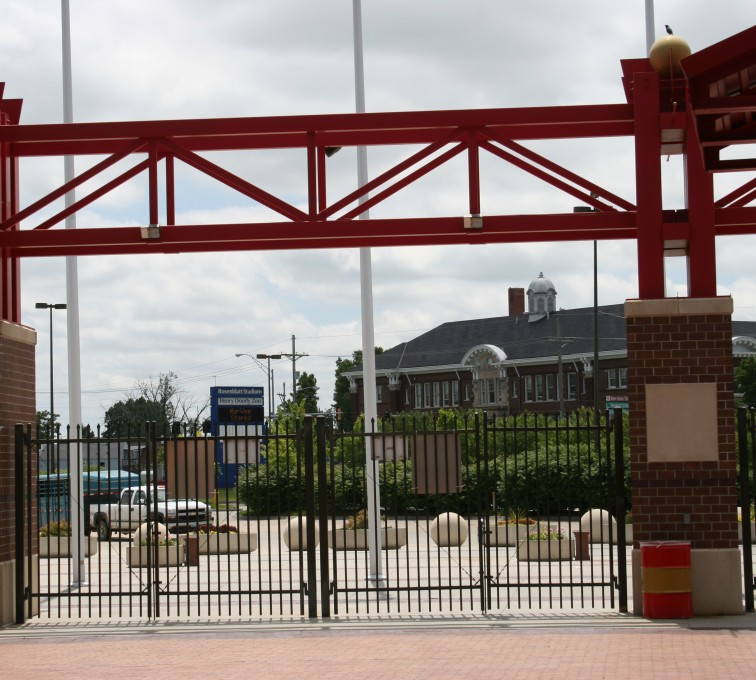 Kansas City Fence Company - Ornamental Fencing, 1070 Classic Bronze Rosenblatt Stadium