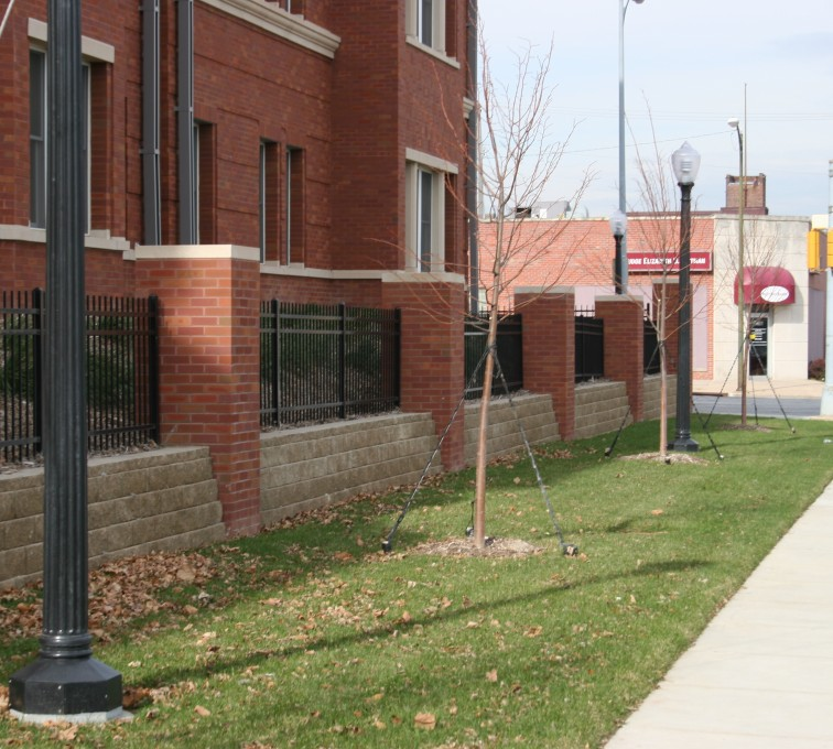 AFC Grand Island - Ornamental Fencing, 1073 Black Spear Top Creighton Student Housing