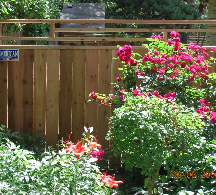AmeriFence Corporation Kansas City - Wood Fencing, 1073 Frank Lloyd Wright Fence
