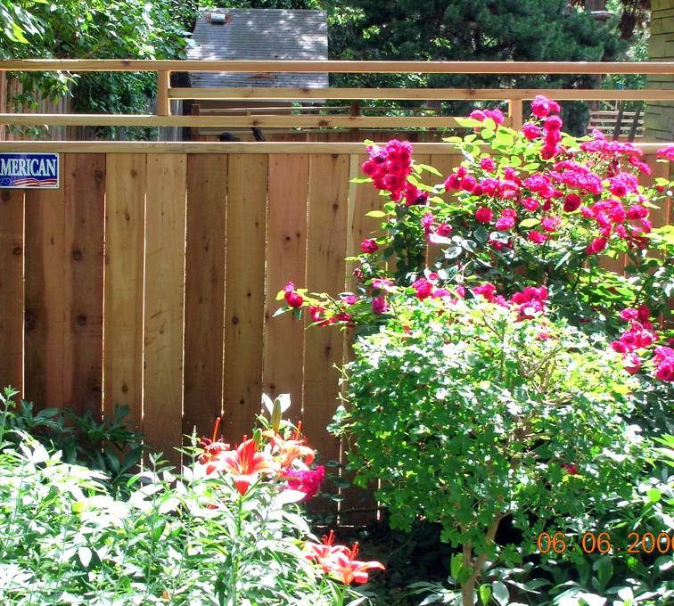 AmeriFence Corporation Kansas City - Wood Fencing, 1075 Frank Lloyd Wright Fence