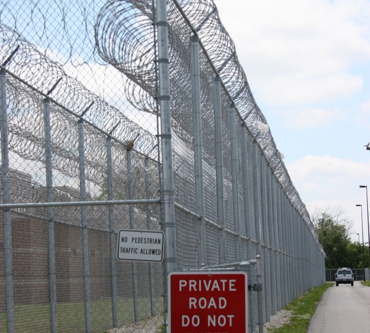 Kansas City Fence Company - High Security Fencing, 2103 Correctional fence with Concertina wire