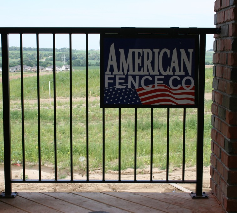 AFC Grand Island - Custom Railing, 2212 Deck Railing