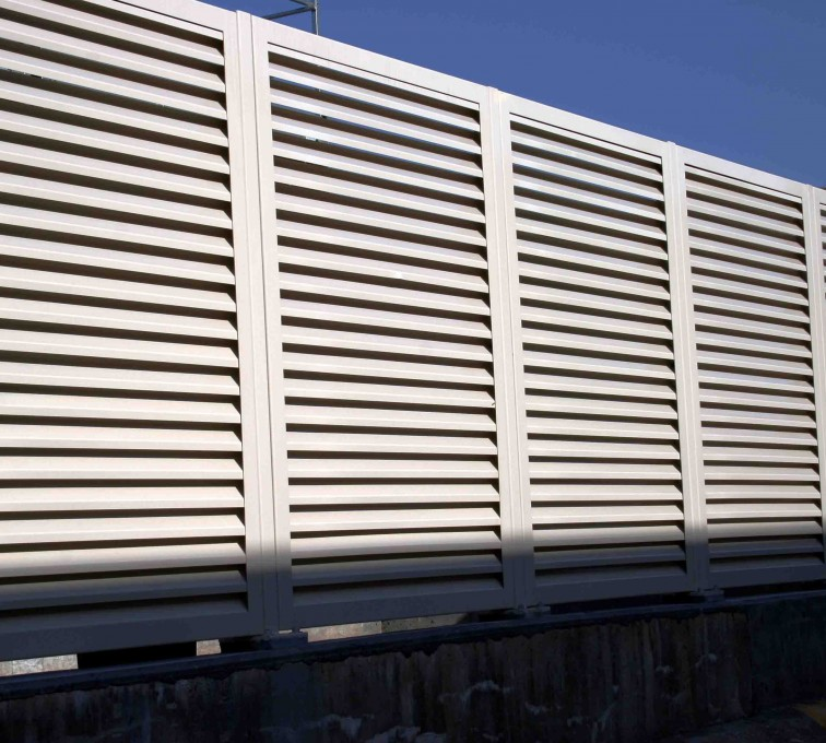 AFC Grand Island - Louvered Fence Systems Fencing, 2223 Louvered Fence