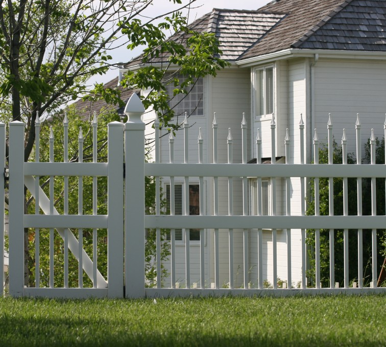 AmeriFence Corporation Kansas City - Vinyl Fencing, 4' Ornamental Warrior 851