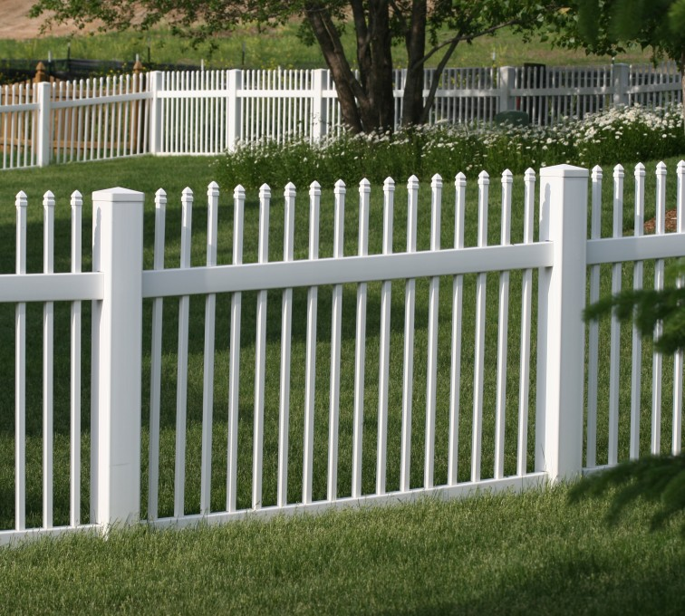 AmeriFence Corporation Kansas City - Vinyl Fencing, 4' Ornamental Picket 855