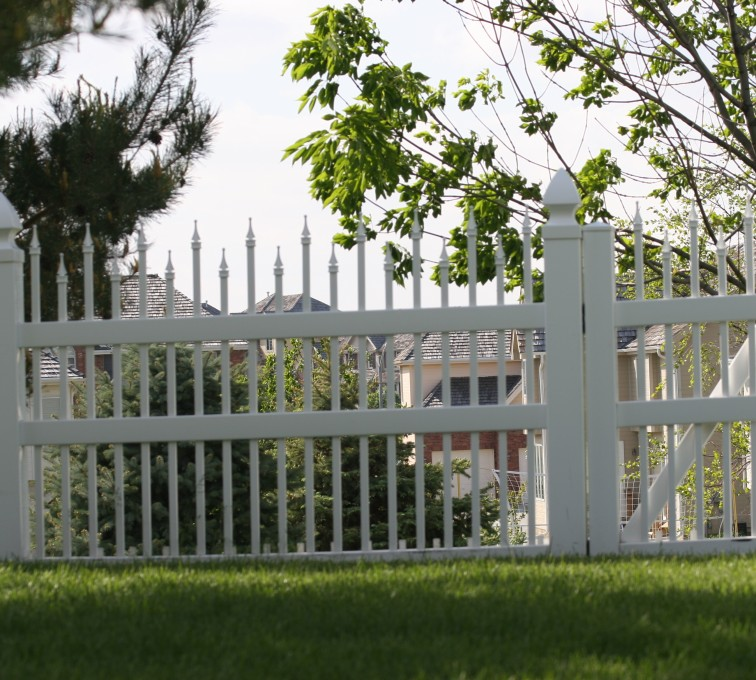 AmeriFence Corporation Kansas City - Vinyl Fencing, 4' Ornamental warrior 852