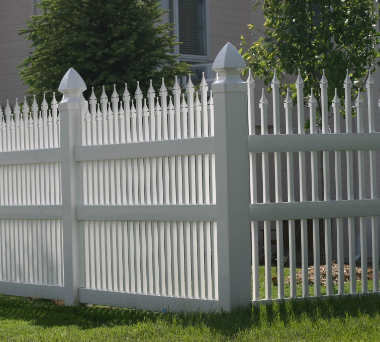 AmeriFence Corporation Kansas City - Vinyl Fencing, 4' Ornamental Warrior 853