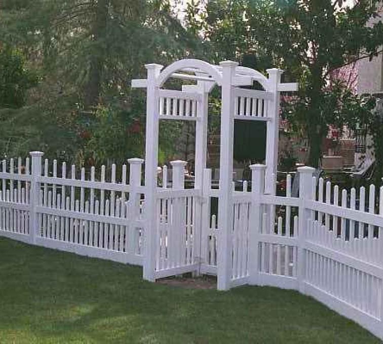Kansas City Fence Company - Vinyl Fencing, Arbor 501