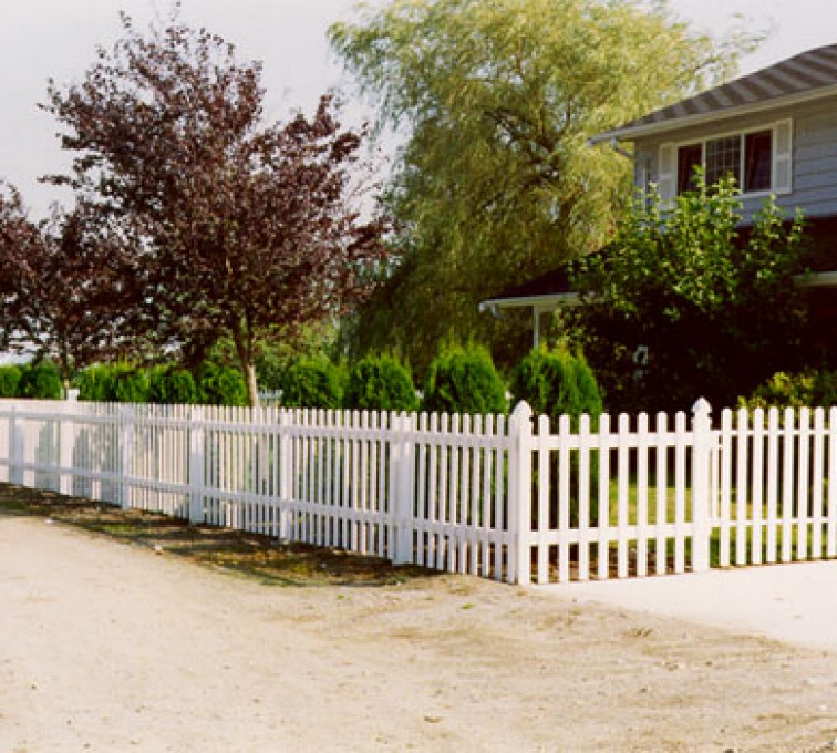 AmeriFence Corporation Kansas City - Vinyl Fencing, Straight Picket 1 568
