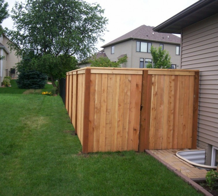 AmeriFence Corporation Kansas City - Wood Fencing, 6' Capboard - AFC - IA