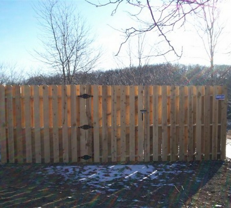 AmeriFence Corporation Kansas City - Wood Fencing, 6' Board on Board - AFC - IA