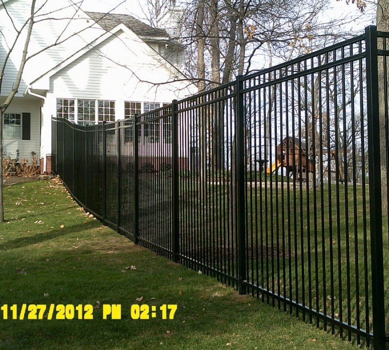 AFC Grand Island - Ornamental Fencing, 6' Flat Top - AFC -IA