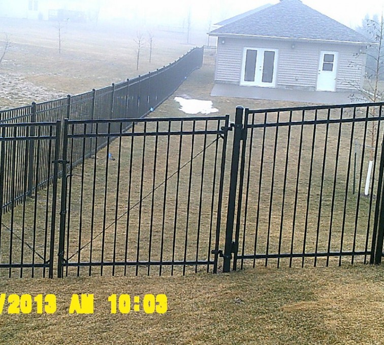 AFC Grand Island - Ornamental Fencing, 6' Flat Top - AFC - IA