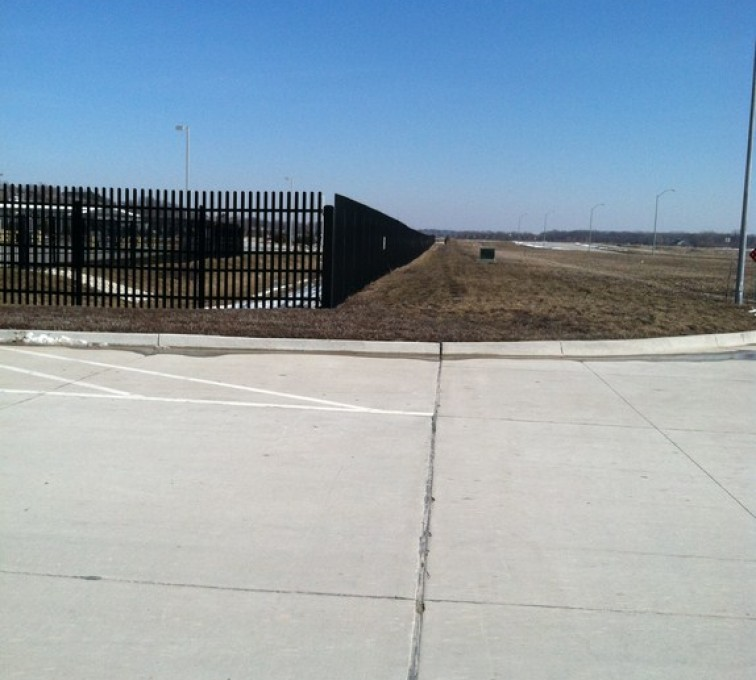 Kansas City Fence Company - K-Rated Vehicle Restraint Systems Fencing, 8' Crash Rated Ornamental Impasses - AFC - IA