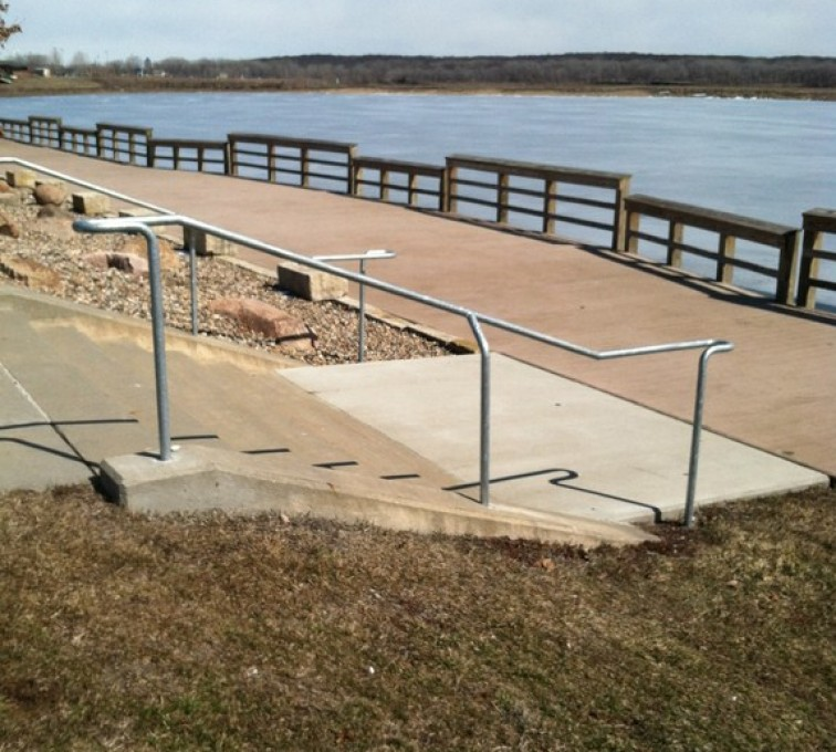 Kansas City Fence Company - Custom Railing, Custom Galvanized Handrail - AFC - IA