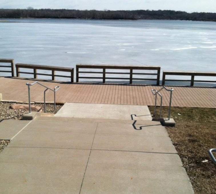 Kansas City Fence Company - Custom Railing,Custom Galvanized Handrail 2 - AFC - IA