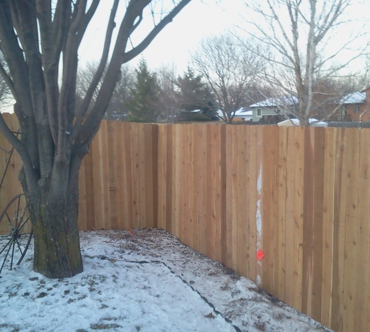 AmeriFence Corporation Kansas City - Wood Fencing, Cedar Privacy 03 AFC, SD