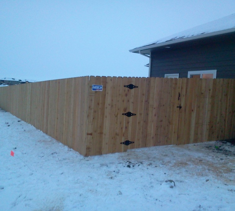 AmeriFence Corporation Kansas City - Wood Fencing, Cedar Privacy AFC, SD