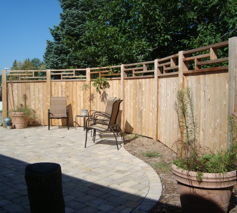 AmeriFence Corporation Kansas City - Wood Fencing, Custom Frank Lloyd Wright AFC, SD