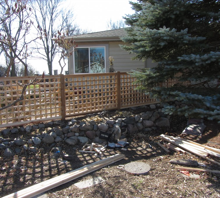 AmeriFence Corporation Kansas City - Wood Fencing, Decorative Cedar Lattice AFC, SD