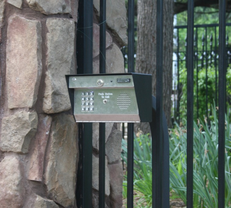 Kansas City Fence Company - Custom Gates, Estate Telephone Entry