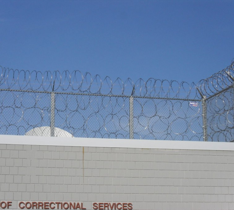 Kansas City Fence Company - High Security Fencing, Four Stack Concertina Wire