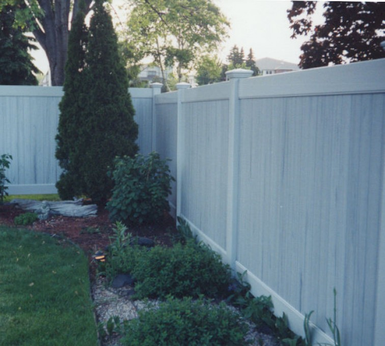 AmeriFence Corporation Kansas City- Vinyl Fencing, Greystone Privacy (615)