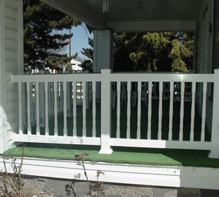 Kansas City Fence Company - Custom Railing, MVC-003F