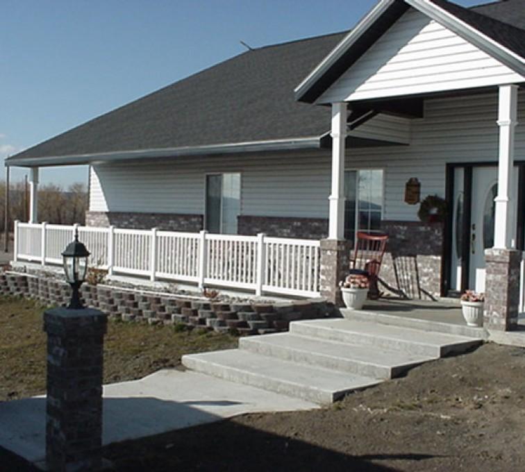 Kansas City Fence Company - Custom Railing, MVC-004F