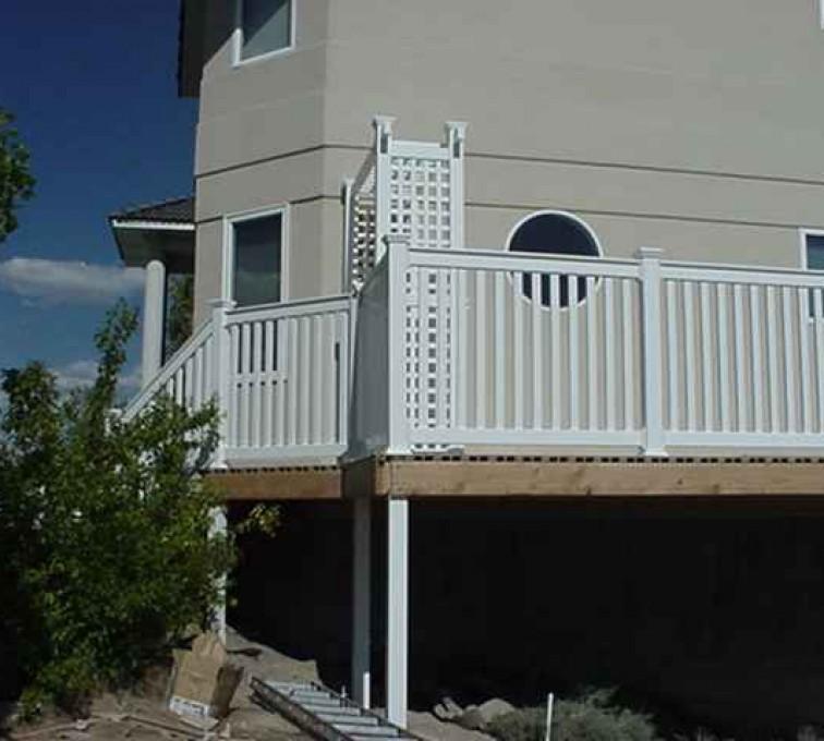 Kansas City Fence Company - Custom Railing, MVC-013F