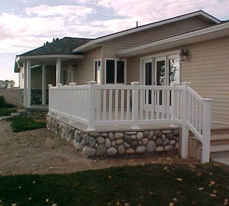 Kansas City Fence Company - Custom Railing, MVC-019S