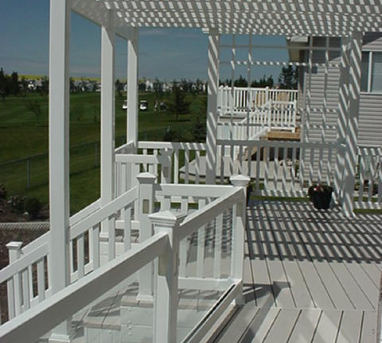 AmeriFence Corporation Kansas City - Specialty Product Fencing, Pergola MVC-235S