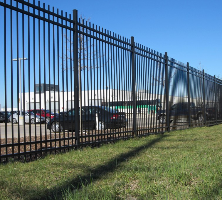 Kansas City Fence Company - American Ornamental Fencing, Commercial Spear Top