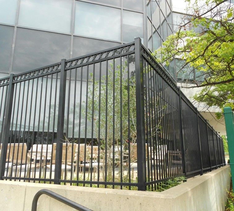 Kansas City Fence Company - American Ornamental Fencing, Commercial Flat Top