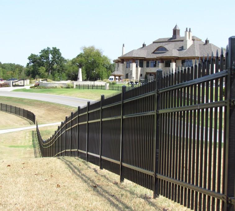 Kansas City Fence Company - American Ornamental Fencing, Spear Top