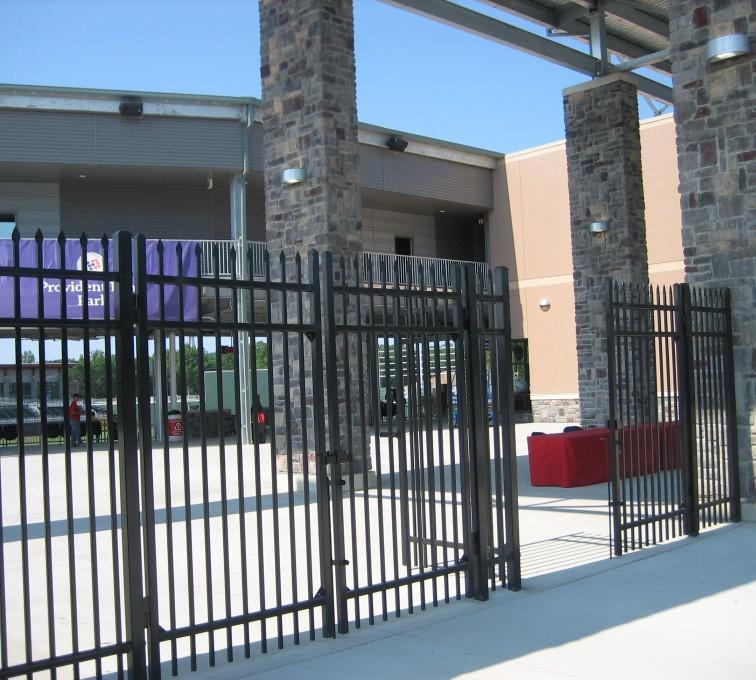 Kansas City Fence Company - American Ornamental Fencing, Spear Top gates