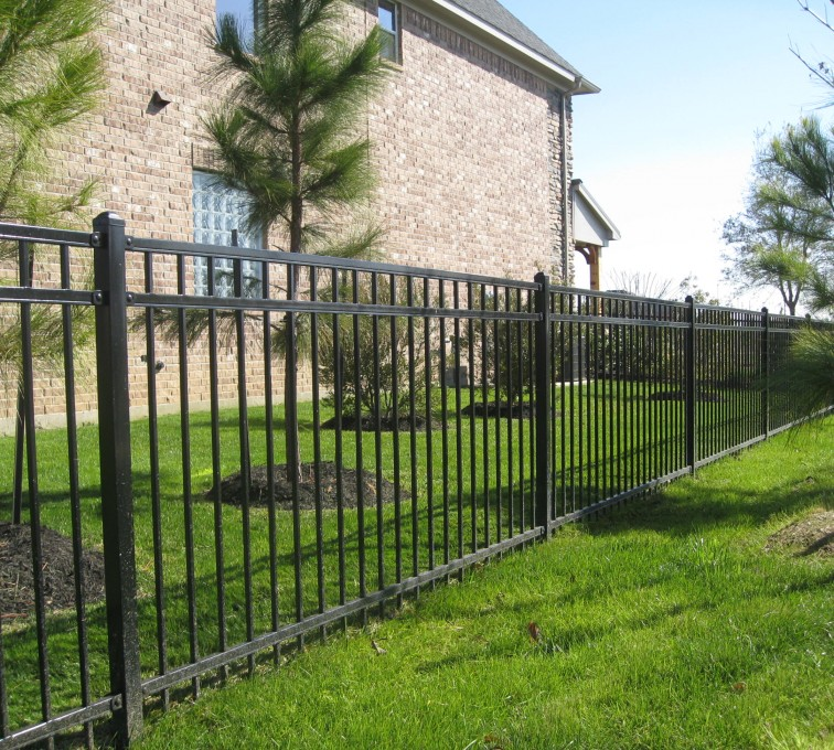 Kansas City Fence Company - American Ornamental Fencing, Flat Top