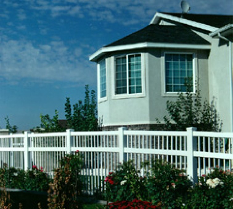 AmeriFence Corporation Kansas City - Vinyl Fencing, Ornamental Pool Style 859