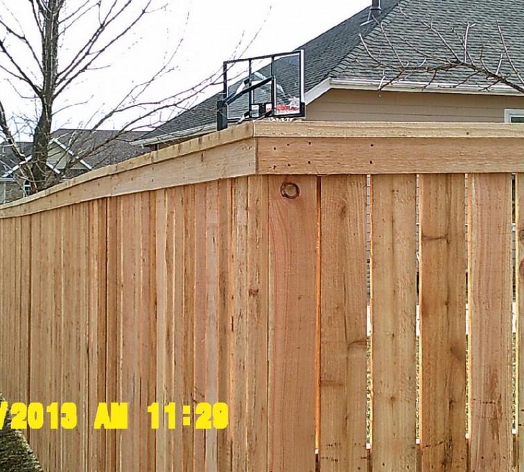 AmeriFence Corporation Kansas City - Wood Fencing, Picket Capboard - AFC - IA