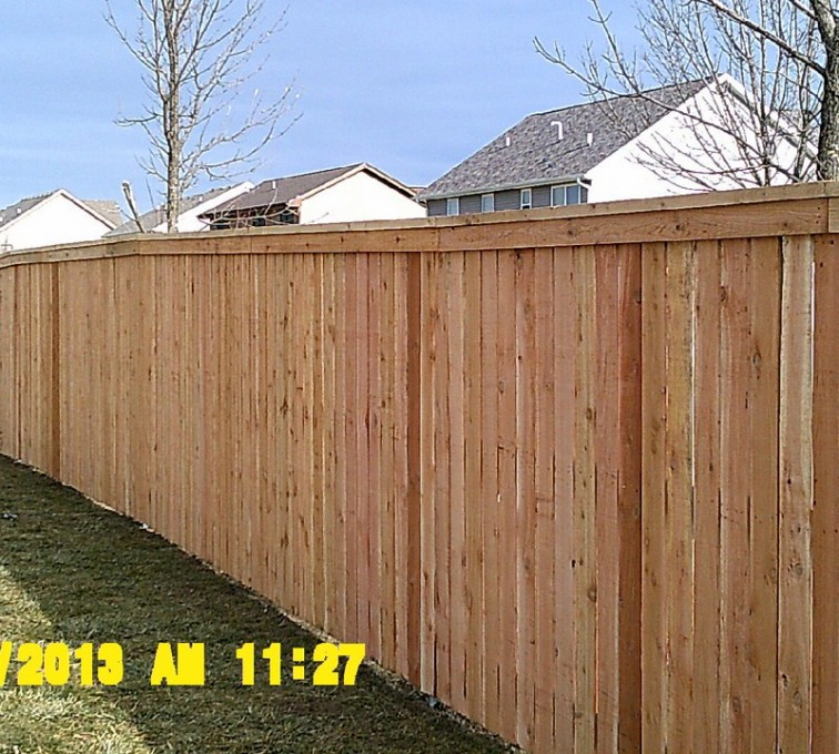 AmeriFence Corporation Kansas City - Wood Fencing, Picket Capboard - AFC - IA