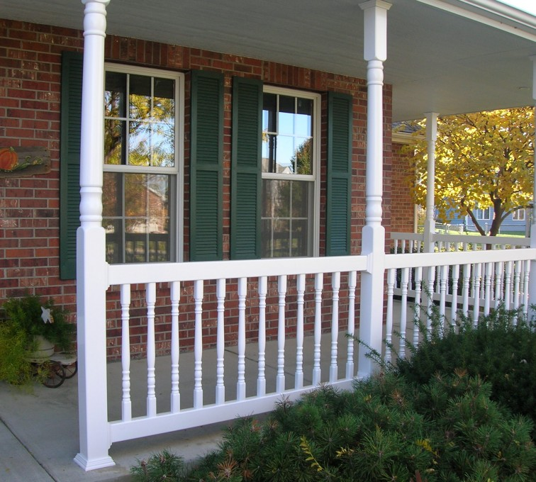 AFC Grand Island - Custom Railing, Porch Rail