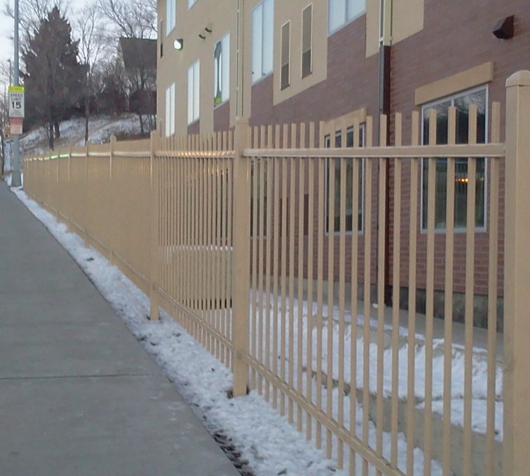 AFC Grand Island - Ornamental Fencing, Sandstone Ornamental Fence