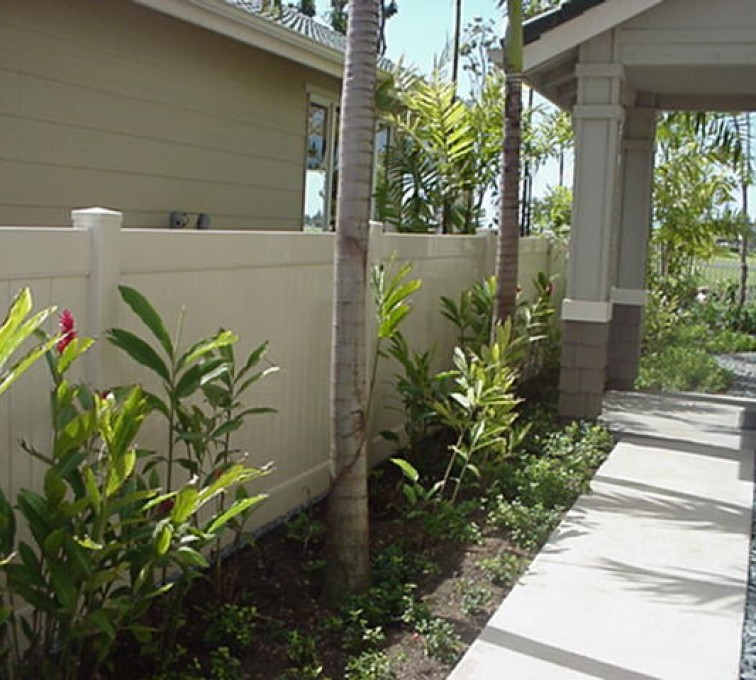 AFC Grand Island - Vinyl Fencing, Solid Privacy (605)