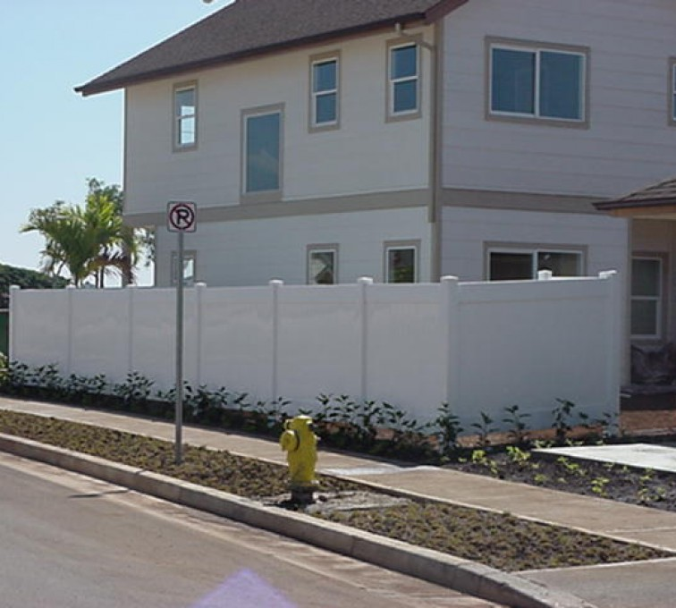 AFC Grand Island - Vinyl Fencing, Solid Privacy (609)