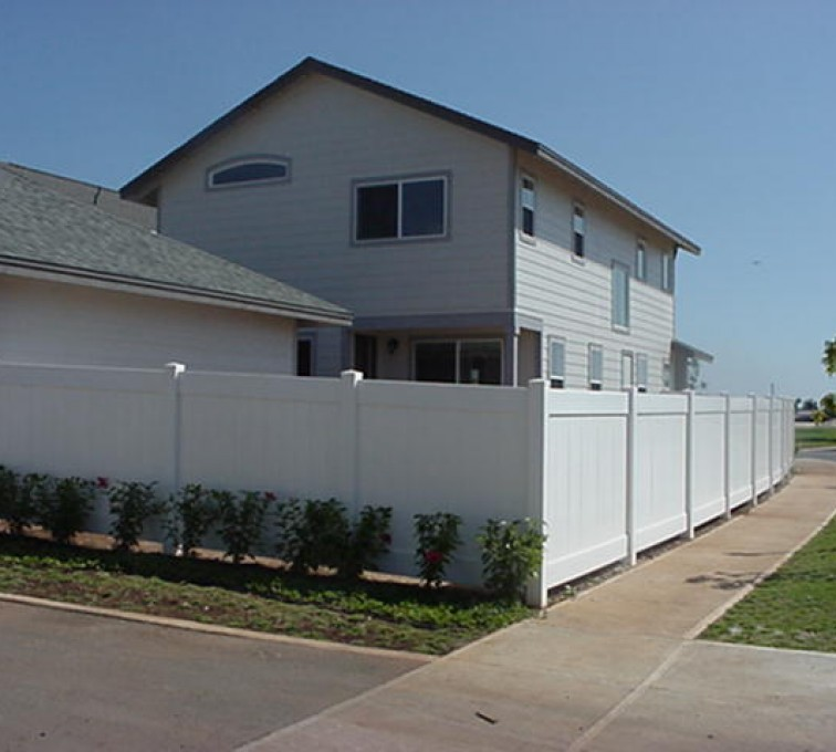 AmeriFence Corporation Kansas City - Vinyl Fencing, Solid Privacy (611)
