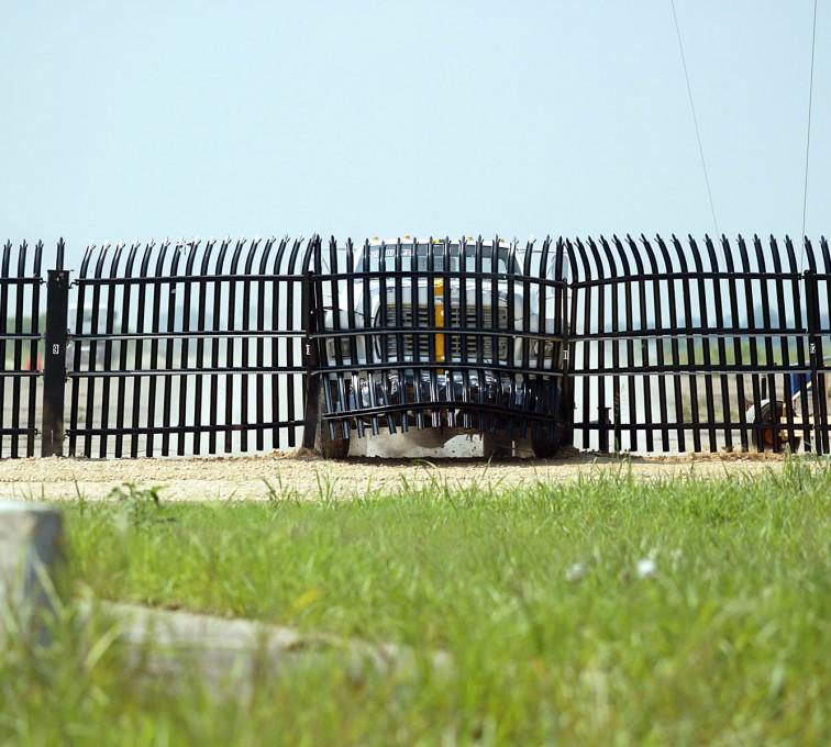 Kansas City Fence Company - American Ornamental Fencing, crash test