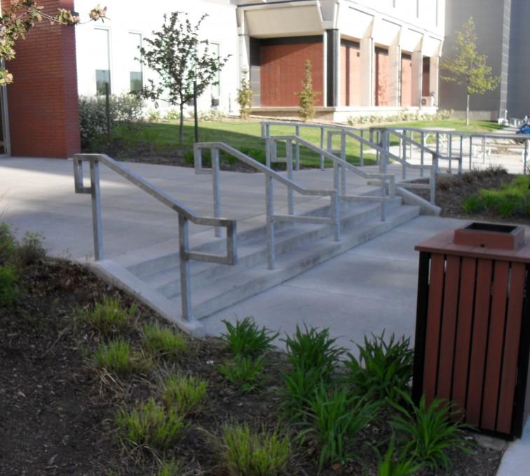 Kansas City Fence Company - Custom Railing, UNL Handrail