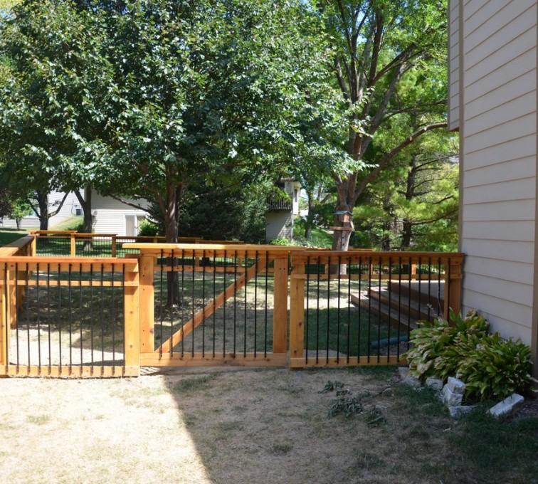 AmeriFence Corporation Kansas City - Wood Fencing, Woodland Series - Gardens Grace - AFC - IA